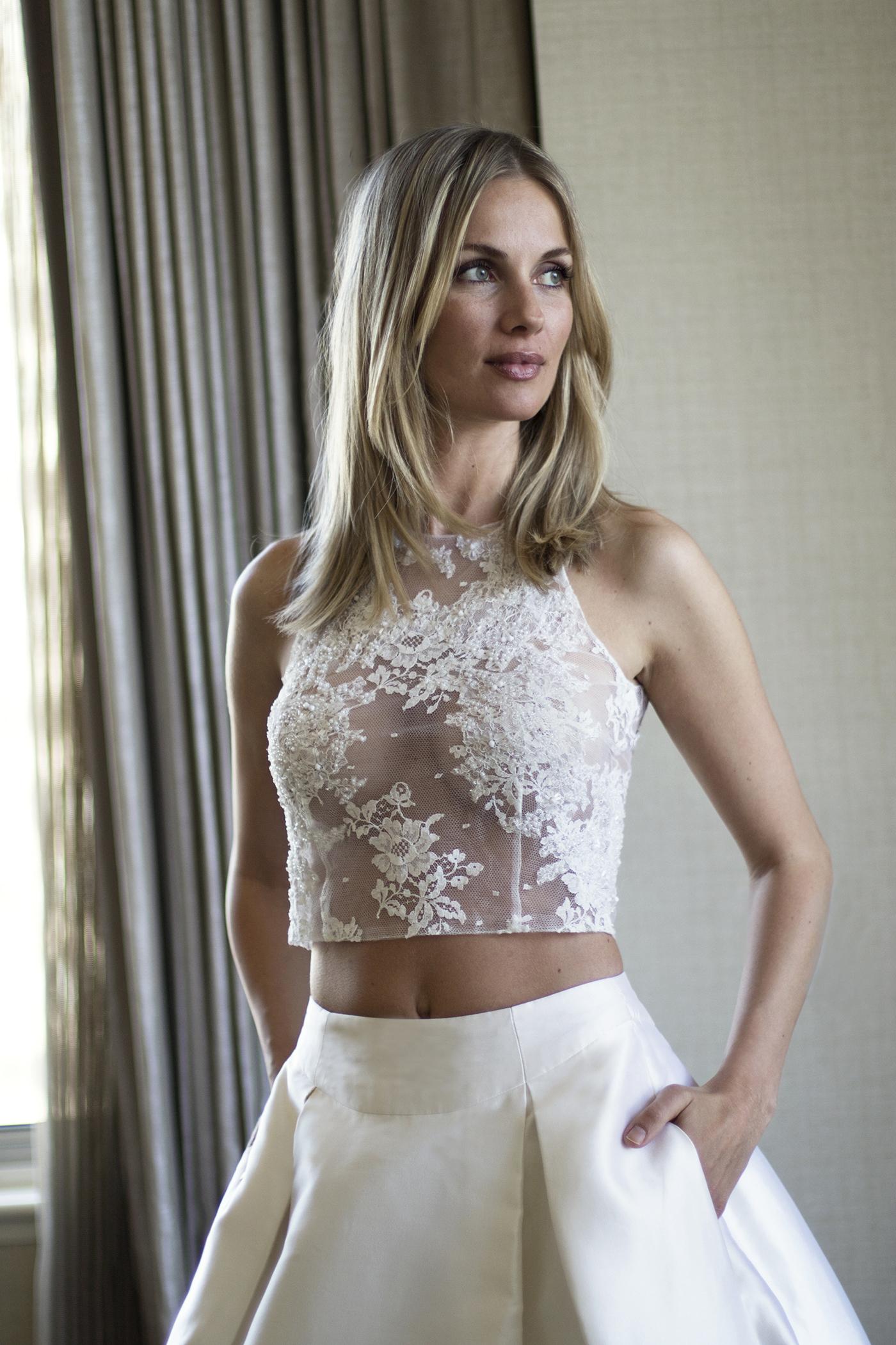 Coralie designer wedding dresses by Caroline Castigliano