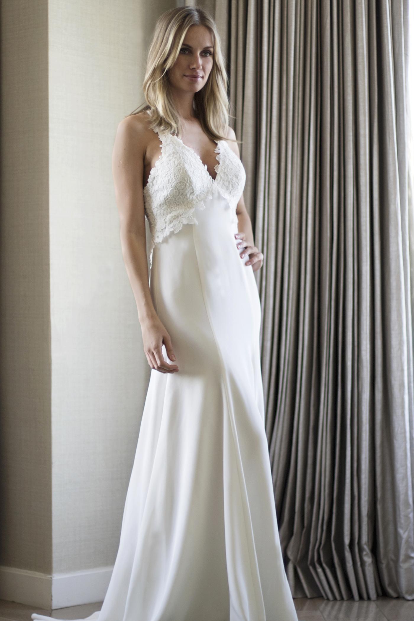 Freya designer wedding dresses by Caroline Castigliano