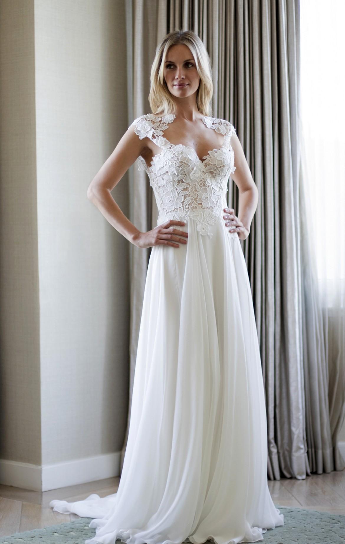 Morning designer wedding dresses by Caroline Castigliano
