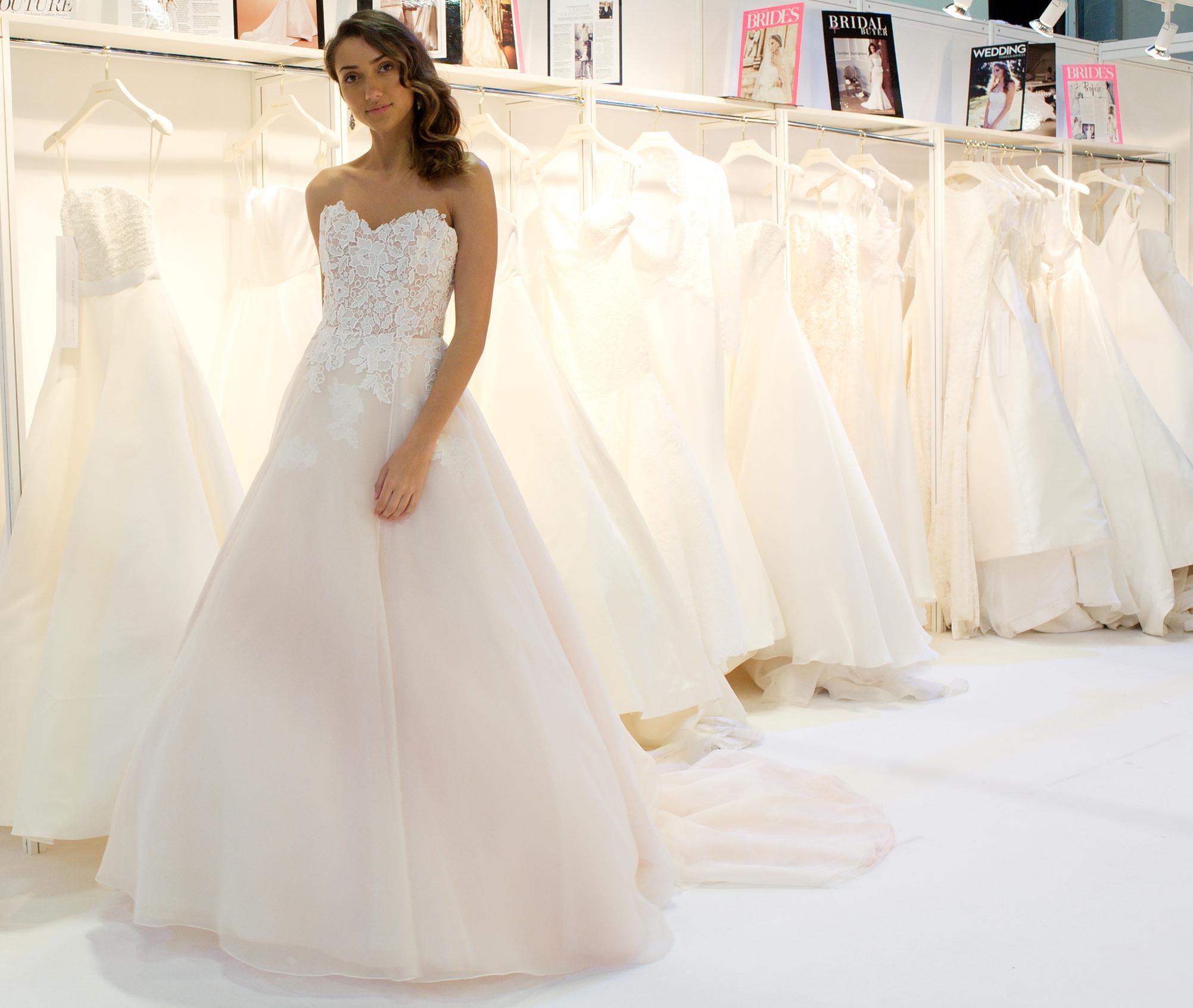 Anniversary designer wedding dresses by Caroline Castigliano