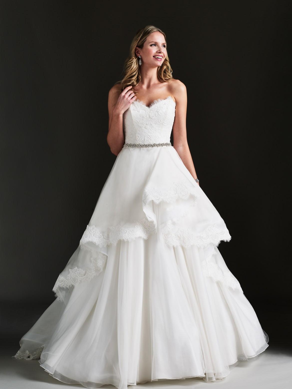 Taylor designer wedding dress by Caroline Castigliano