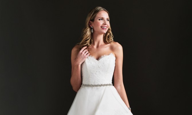 Taylor designer wedding dress by Caroline Castigliano