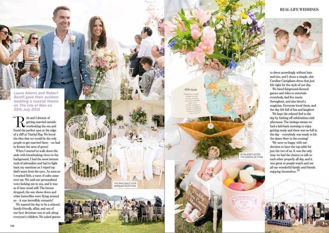 Perfect Wedding designer wedding dress by Caroline Castigliano