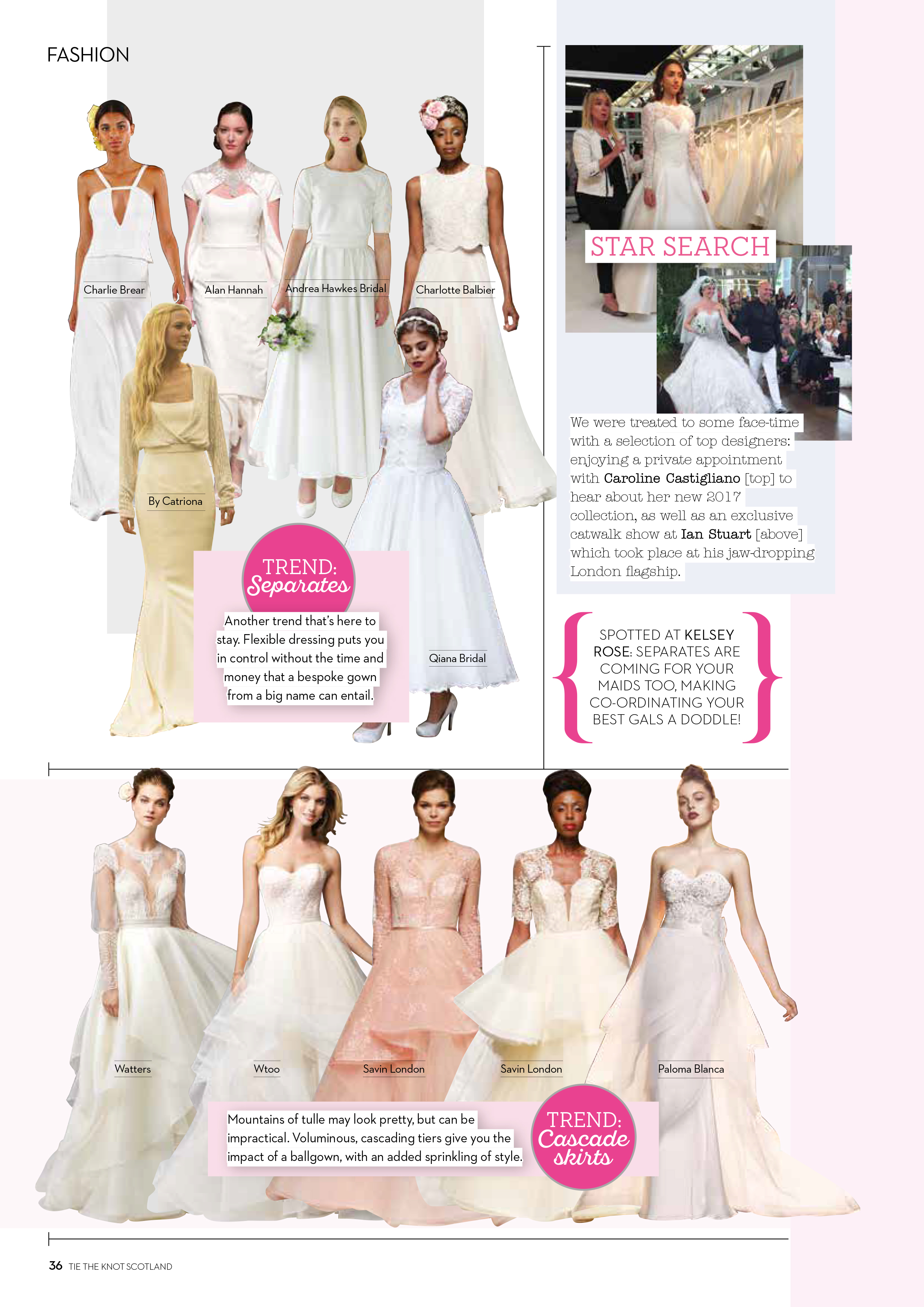 Tie The Knot Caroline Castigliano designer wedding dresses