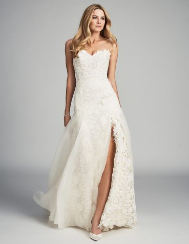 Bisou designer wedding dress by Caroline Castigliano