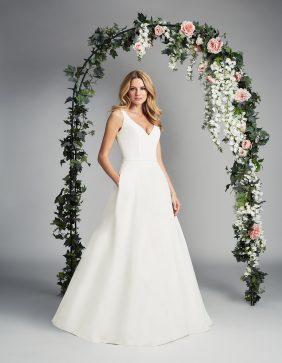Lyla designer wedding dresses by Caroline Castigliano