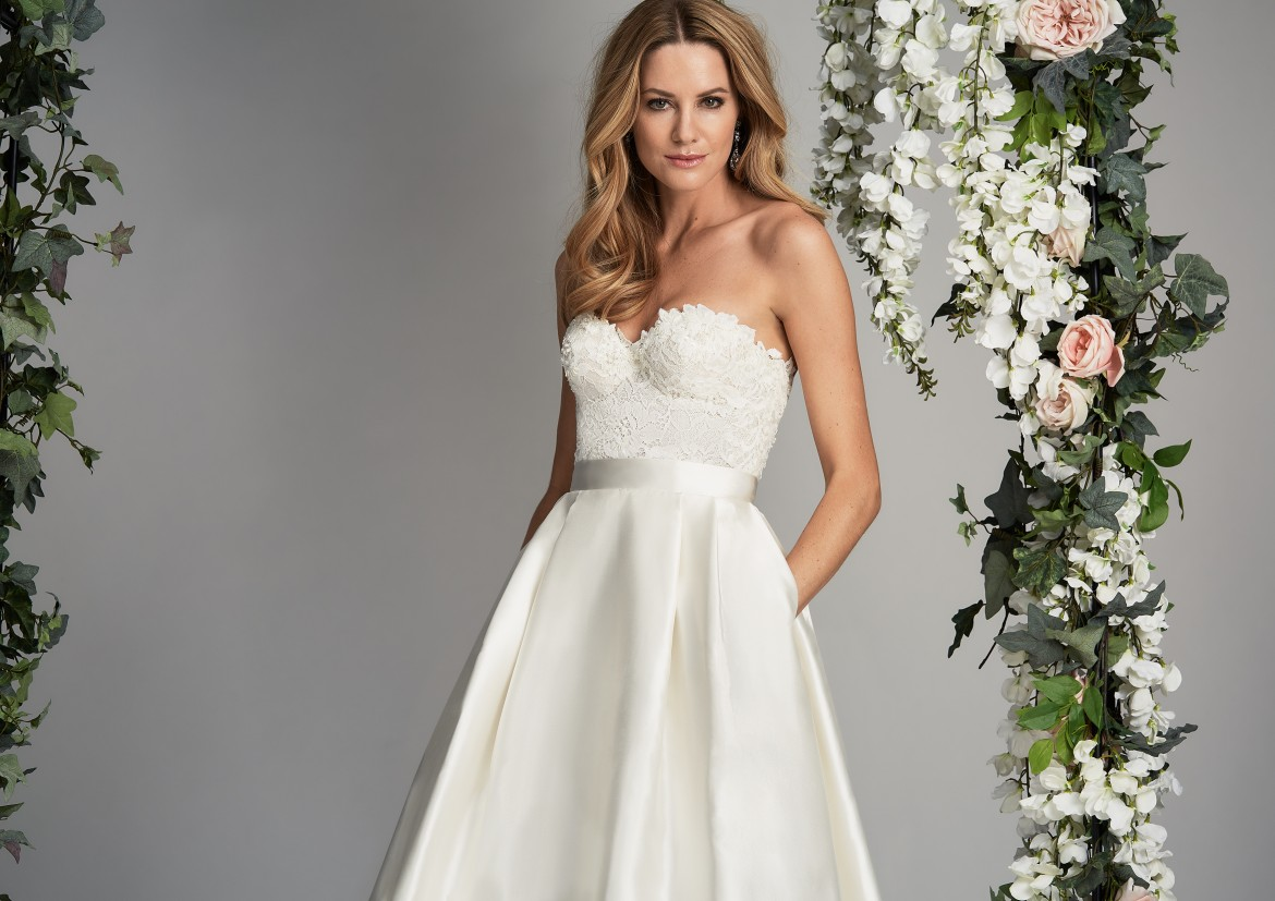 Everlasting designer wedding dress by Caroline Castigliano