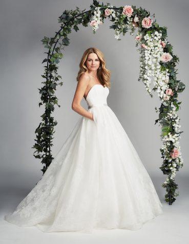 Serafina designer wedding dresses by Caroline Castigliano