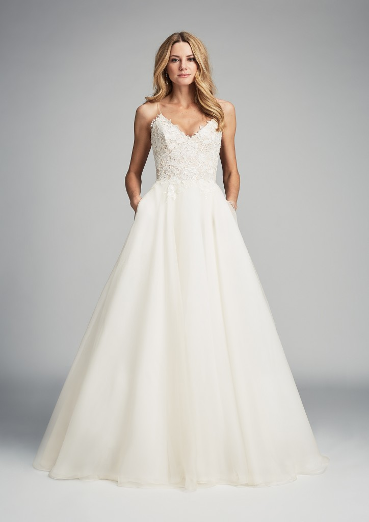 Tertia designer wedding dresses by Caroline Castigliano