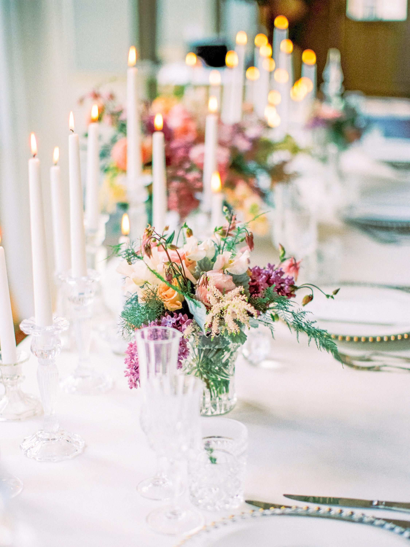 Styled bridal shoot featuring Caroline Castigliano
