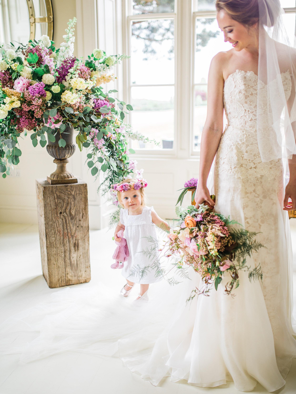 Bisou designer wedding gown by Caroline Castigliano