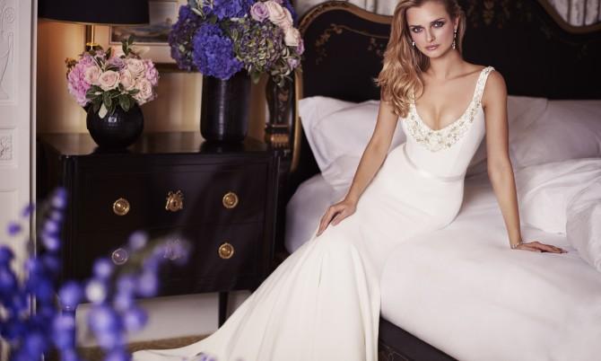 Baboushka designer wedding dress by Caroline Castigliano
