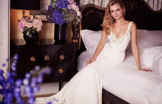 Baboushka designer wedding gowns by Caroline Castigliano