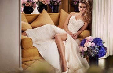 Bisou designer wedding gowns by Caroline Castigliano