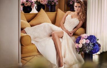 Bisou designer wedding gowns by Caroline Castigliano