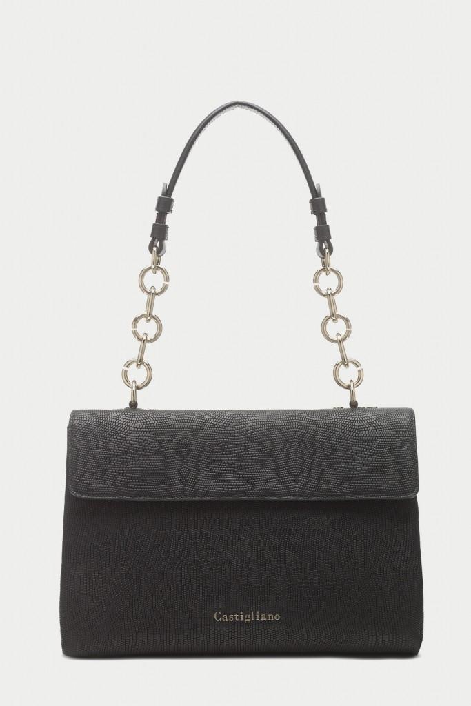 CCB7003 black designer handbags by Caroline Castigliano