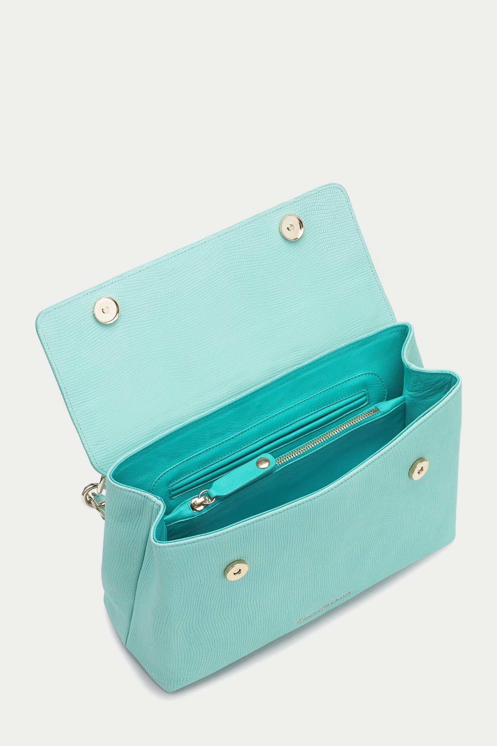 98dc9cdb21d ... CCB7003 leather handbag by Caroline Castigliano · ccb7003 designer  handbags by Caroline Castigliano · Briella ANACONDA ROSA Pink Leather  Handbag