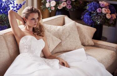 Eternal Love designer weddnig gown by Caroline Castigliano