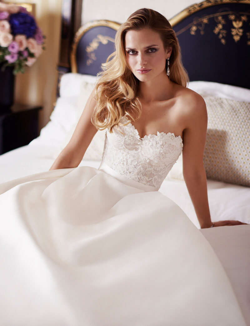 Everlasting designer wedding gowns by Caroline Castigliano