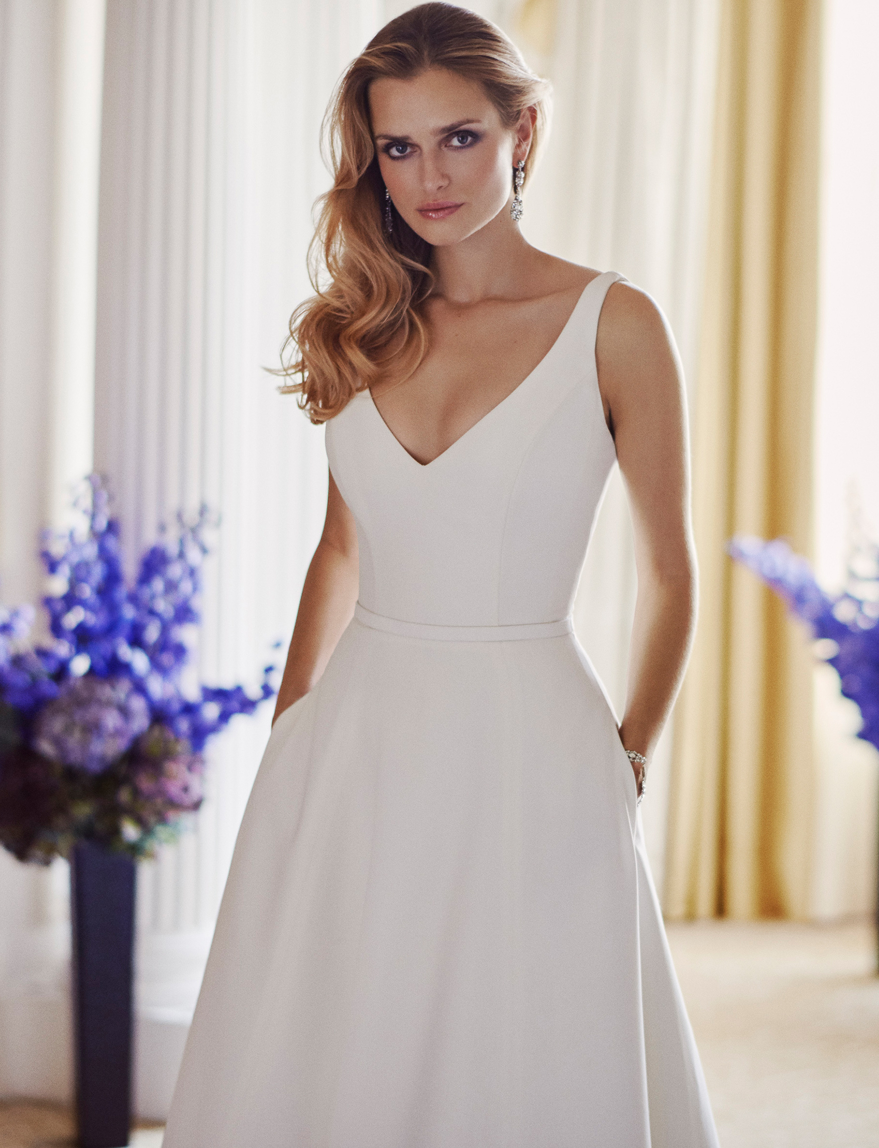 Lyla designer wedding dress by Caroline Castigliano