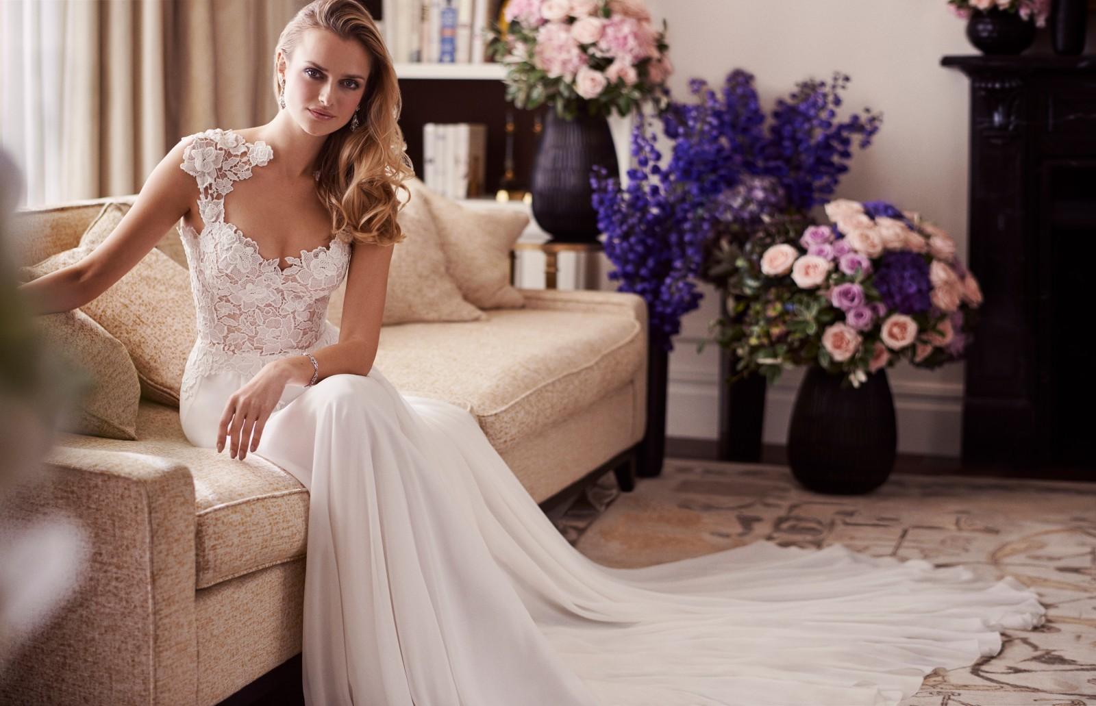 Morning Wedding Dress Caroline Castigliano