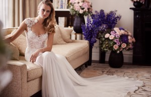 Morning designer wedding gowns by Caroline Castigliano