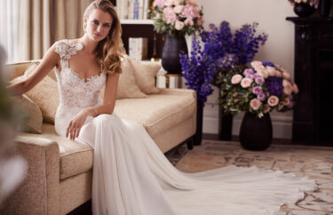 Morning designer wedding gowns by Caroline Castigliano