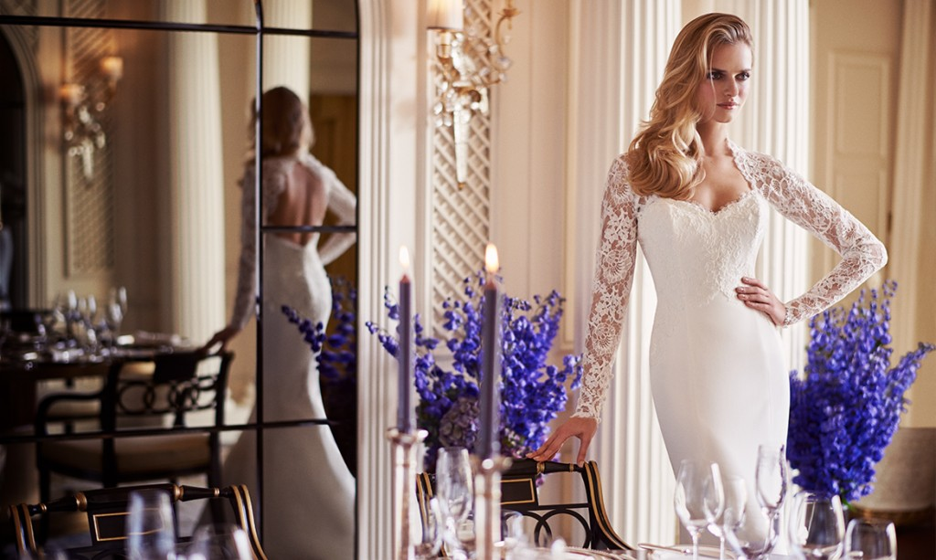 Panache designer wedding gown by Caroline Castigliano