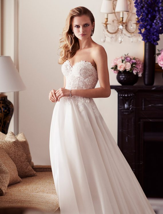 Paislee designer wedding gowns by Caroline Castigliano