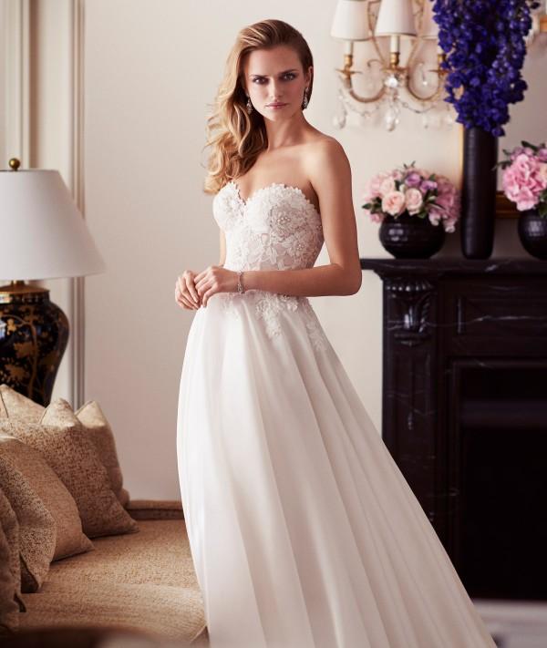 Paislee designer wedding gowns by Caroline Castigliano