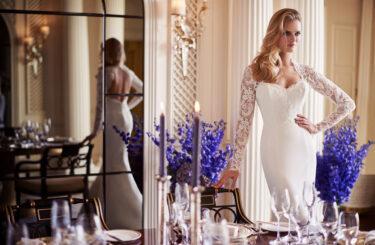 Panache designer wedding gowns by Caroline Castigliano