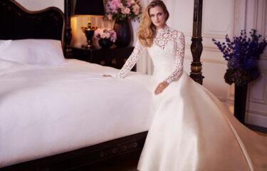Tranquility designer wedding gowns by Caroline Castigliano