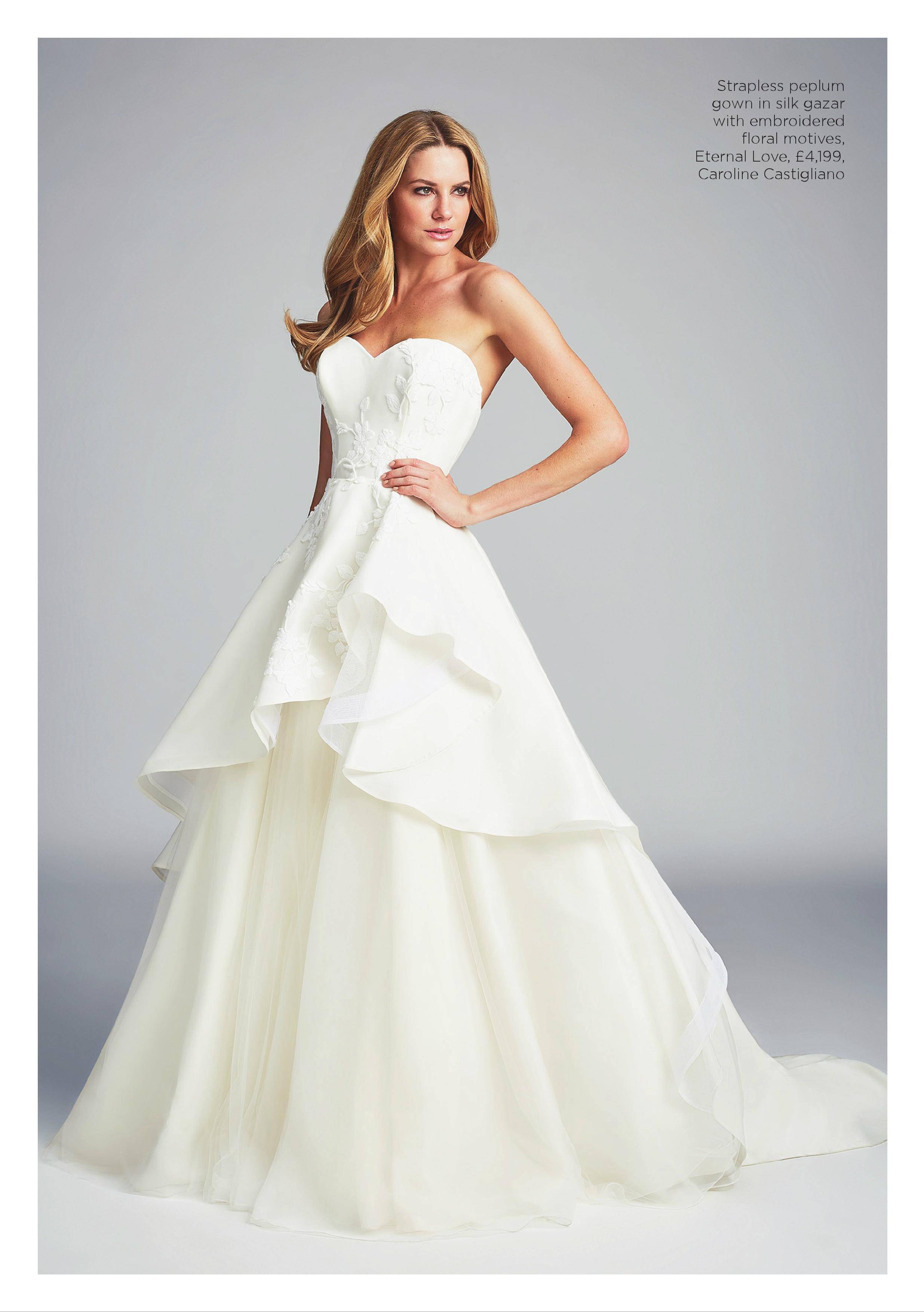 Eternal Love designer wedding gowns by Caroline Castigliano