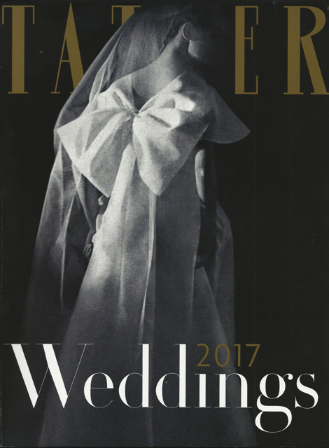 Tatler Wedding Guide designer wedding gowns by Caroline Castigliano