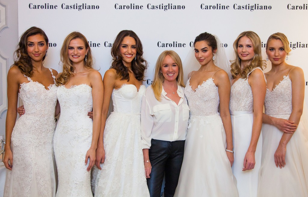 During the event Caroline debuted her new evening wear range available exclusively in her flagship store. The show stopping gowns featured exquisite beading and delicate laces combined with the finest silks and crepes a true testament of Castigliano's unique ability to a cut and construct couture gowns.