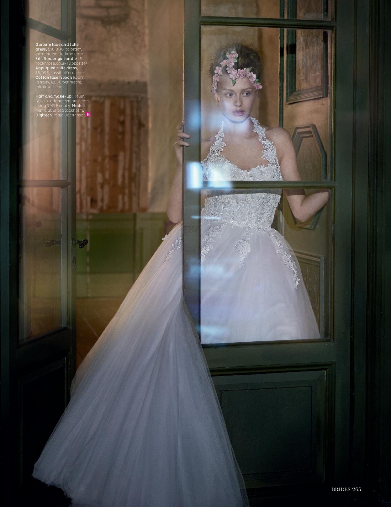 Caroline Castigliano couture gown