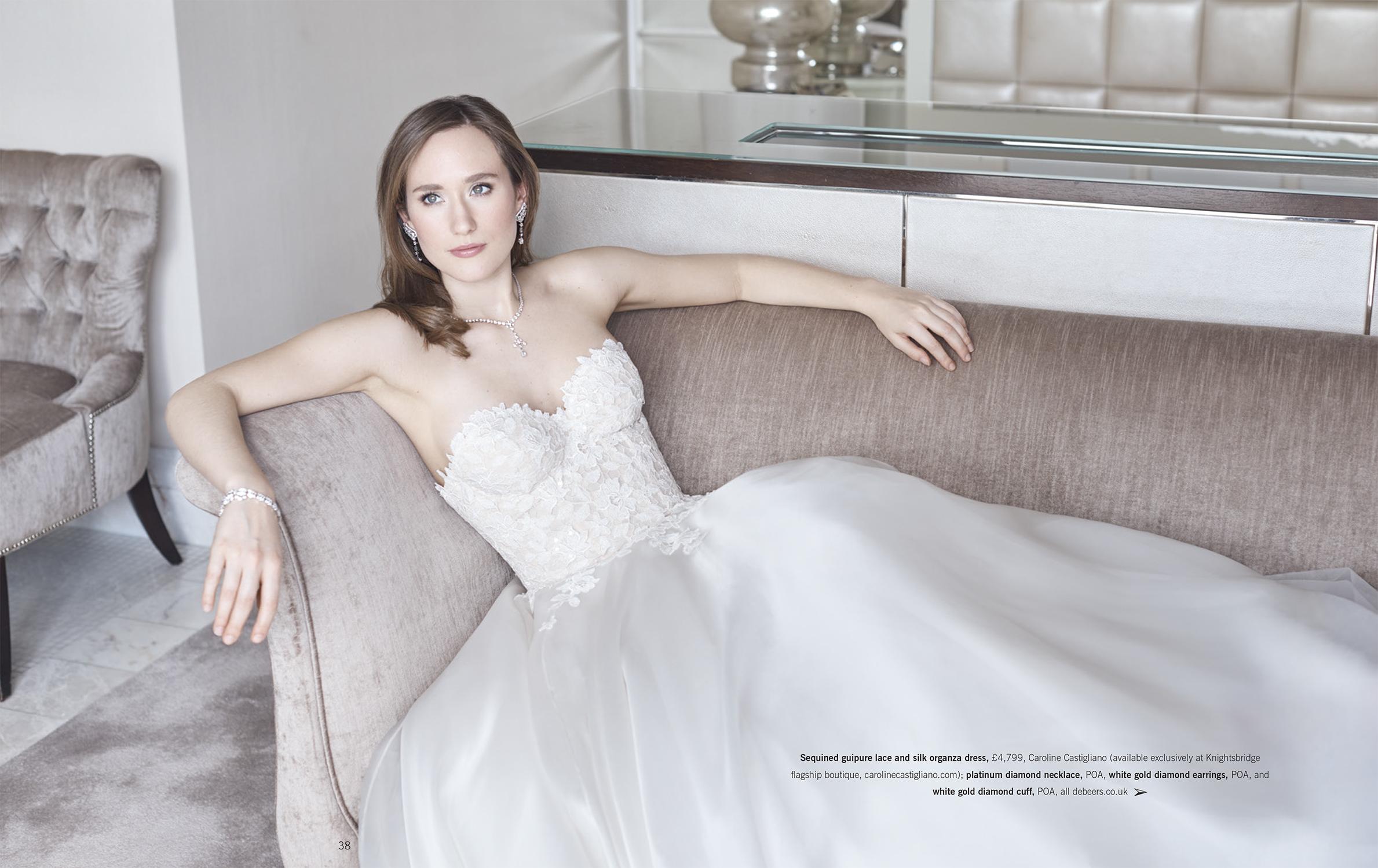 Mine Magazine Editorial Caroline Castigliano designer dresses
