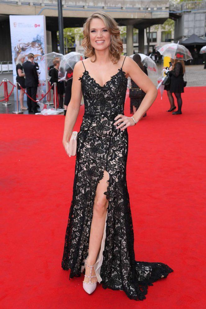 Charlotte Hawkins At Bafta Tv Awards