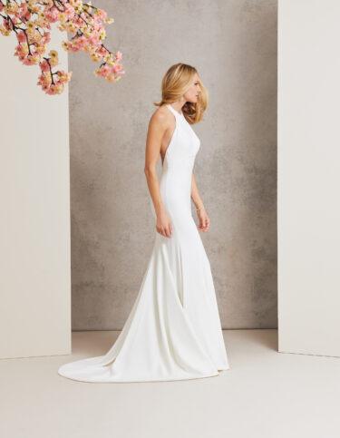 Carnival designer wedding dress by Caroline Castigliano