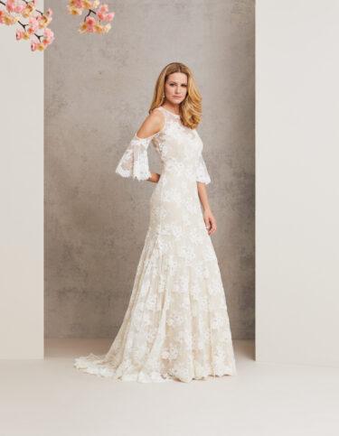 I Do designer wedding gown by Caroline Castigliano