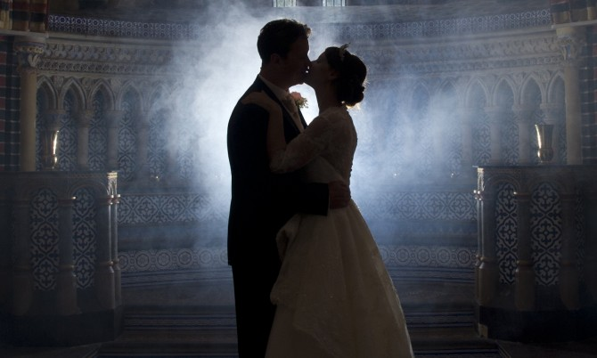 Caroline Castigliano Real Bride Designer Wedding Dress