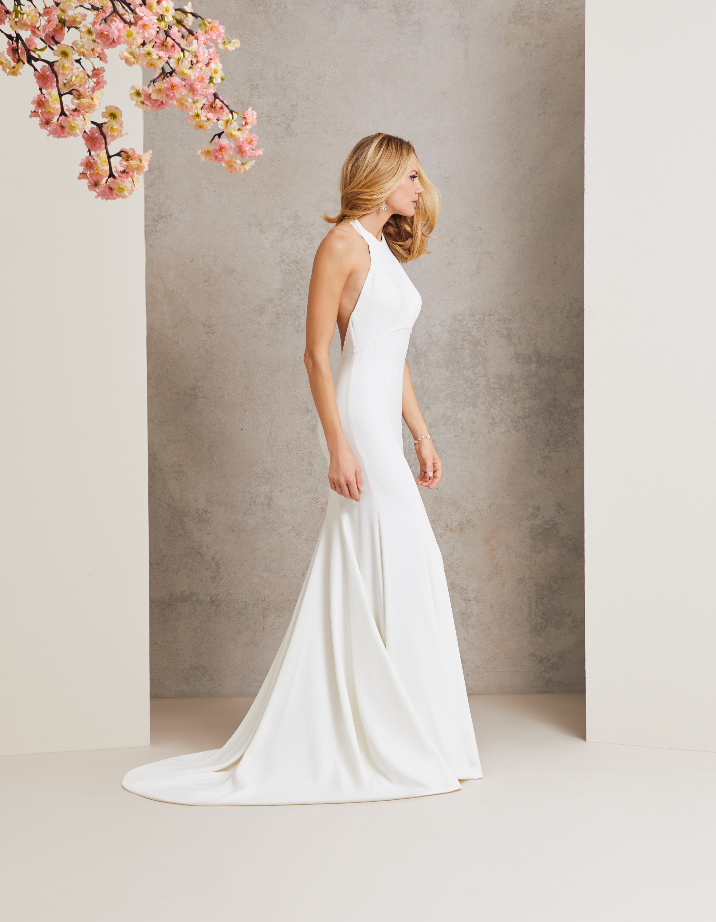 Varnival designer wedding dress by Caroline Castigliano