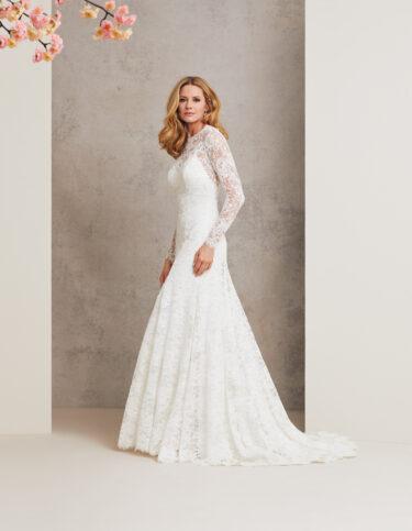 Falling in Love designer wedding dress by Caroline Castigliano