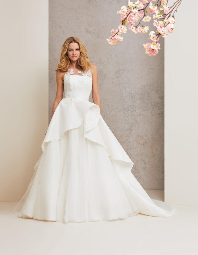 Head over Heels designer wedding dress by Caroline Castigliano