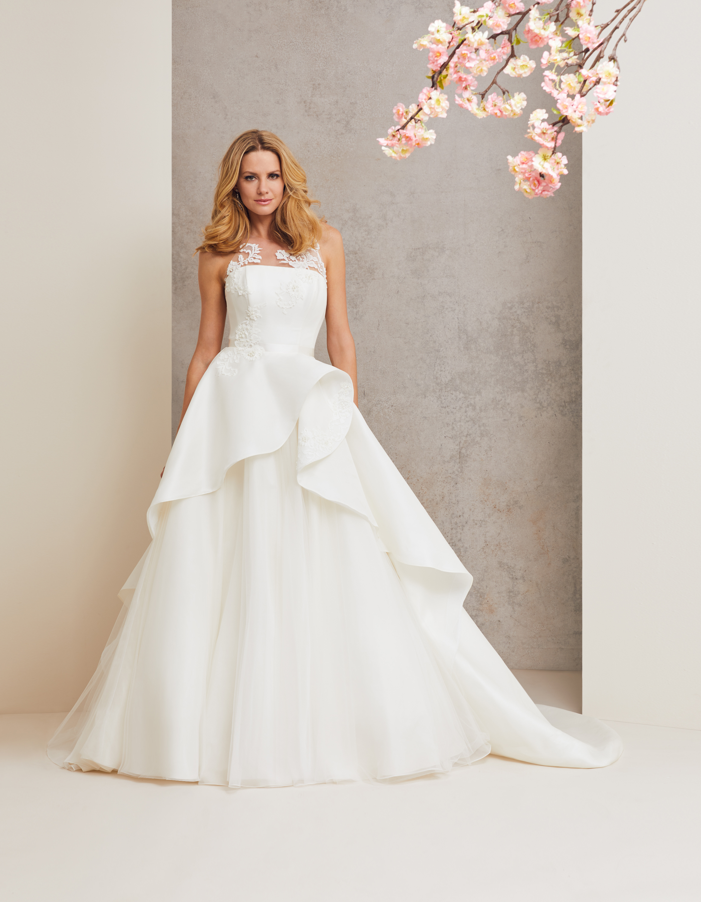 Head over Heels designer wedding dress by Caroline Castigliano