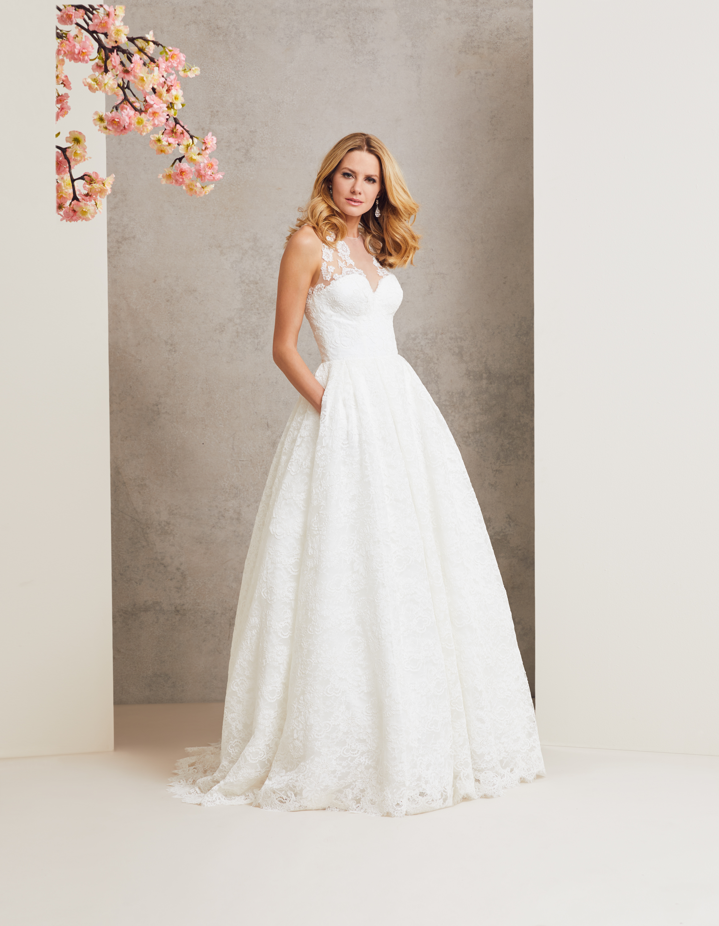 Love Story designer wedding dress by Caroline Castigliano