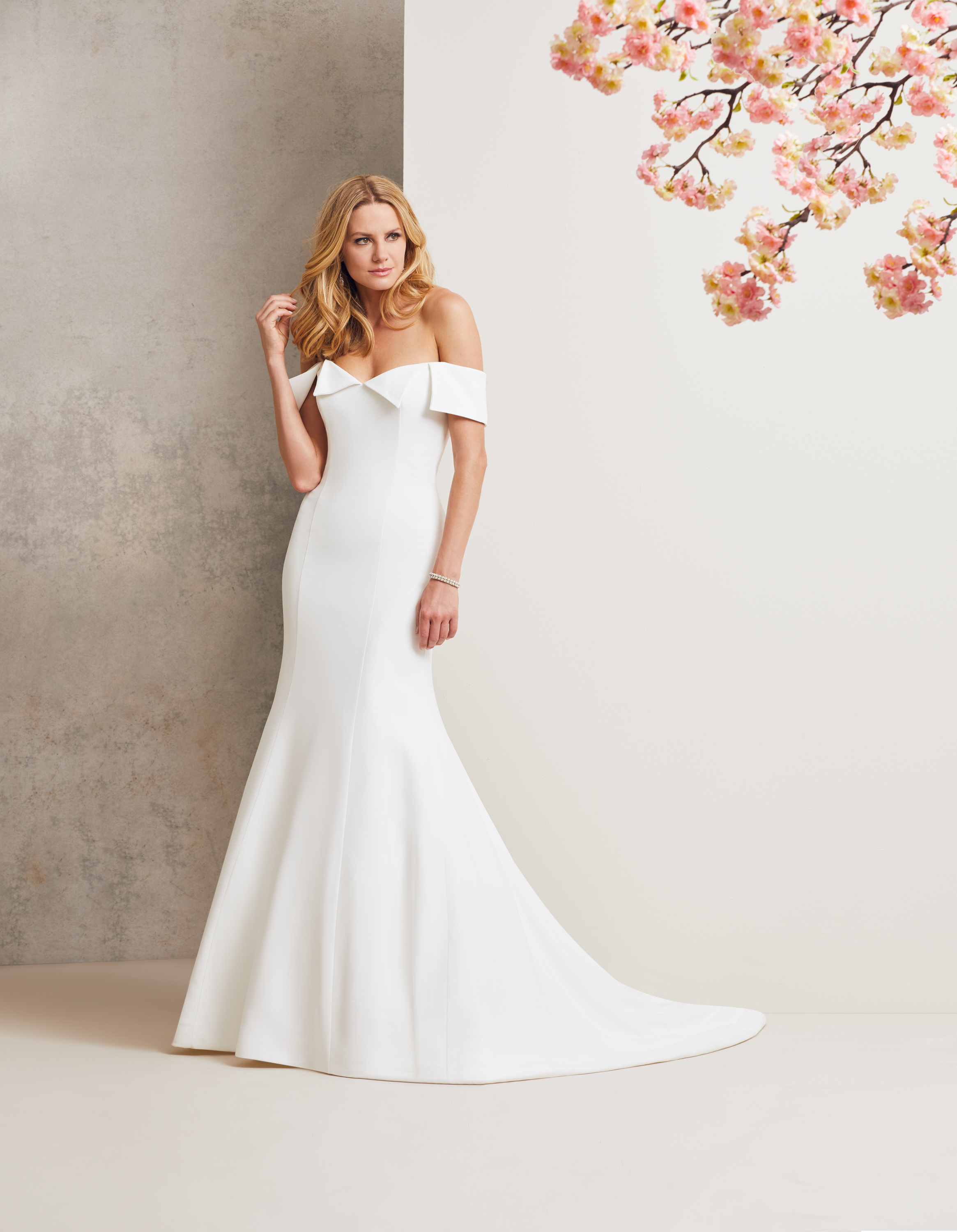Manhattan designer wedding dress by Caroline Castigliano