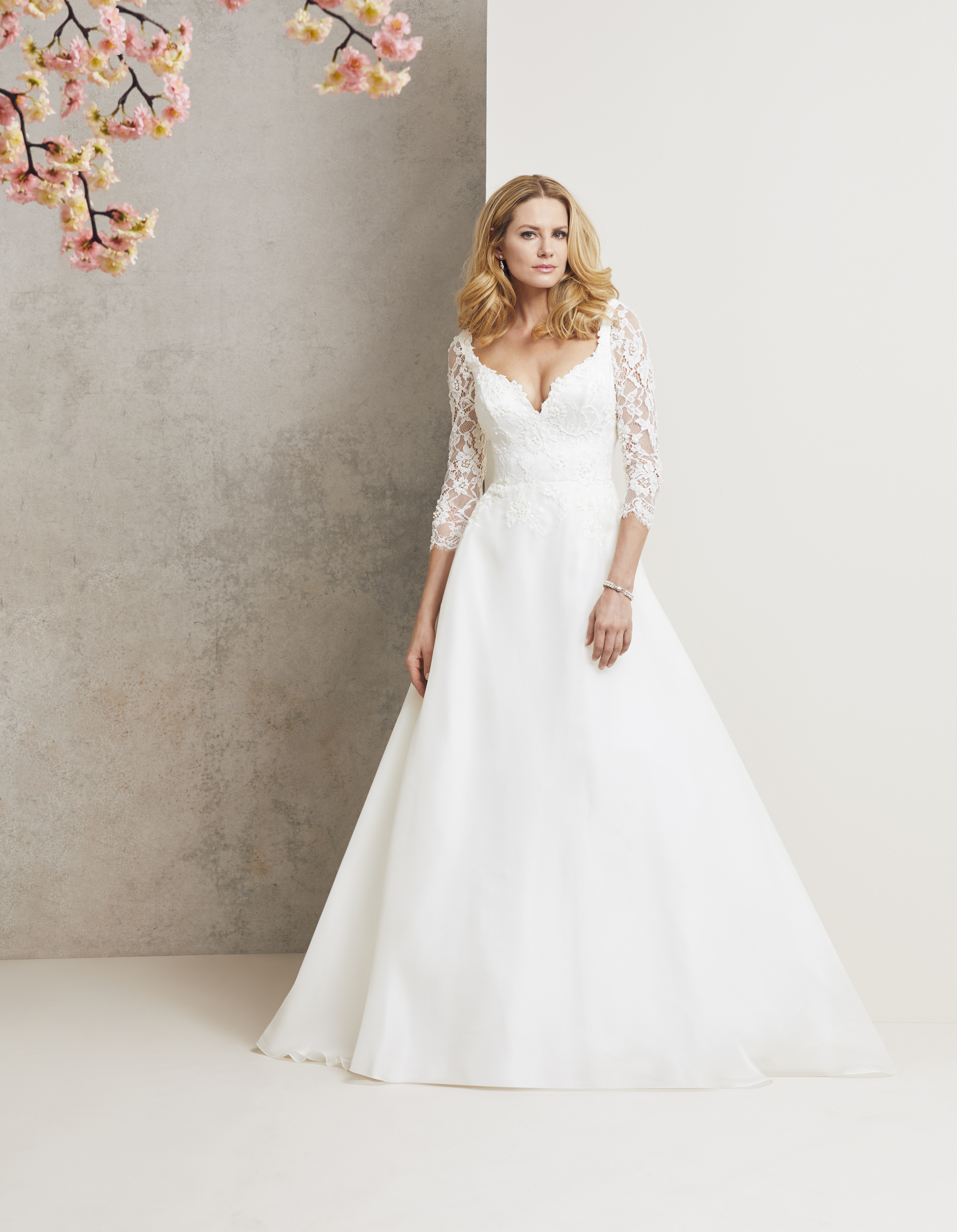 Monarchy designer wedding dress by Caroline Castigliano