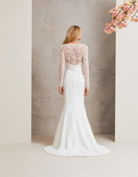 Natalya designer wedding dress by Caroline Castigliano