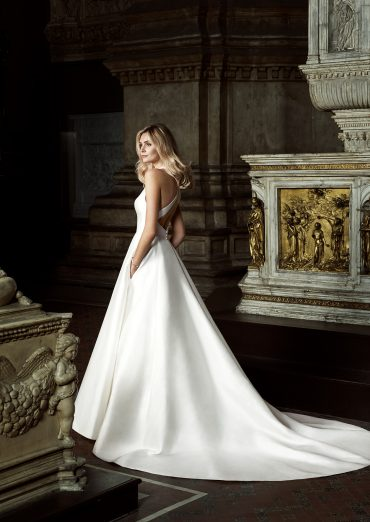 Irresistable designer wedding dress by Caroline Castigliano